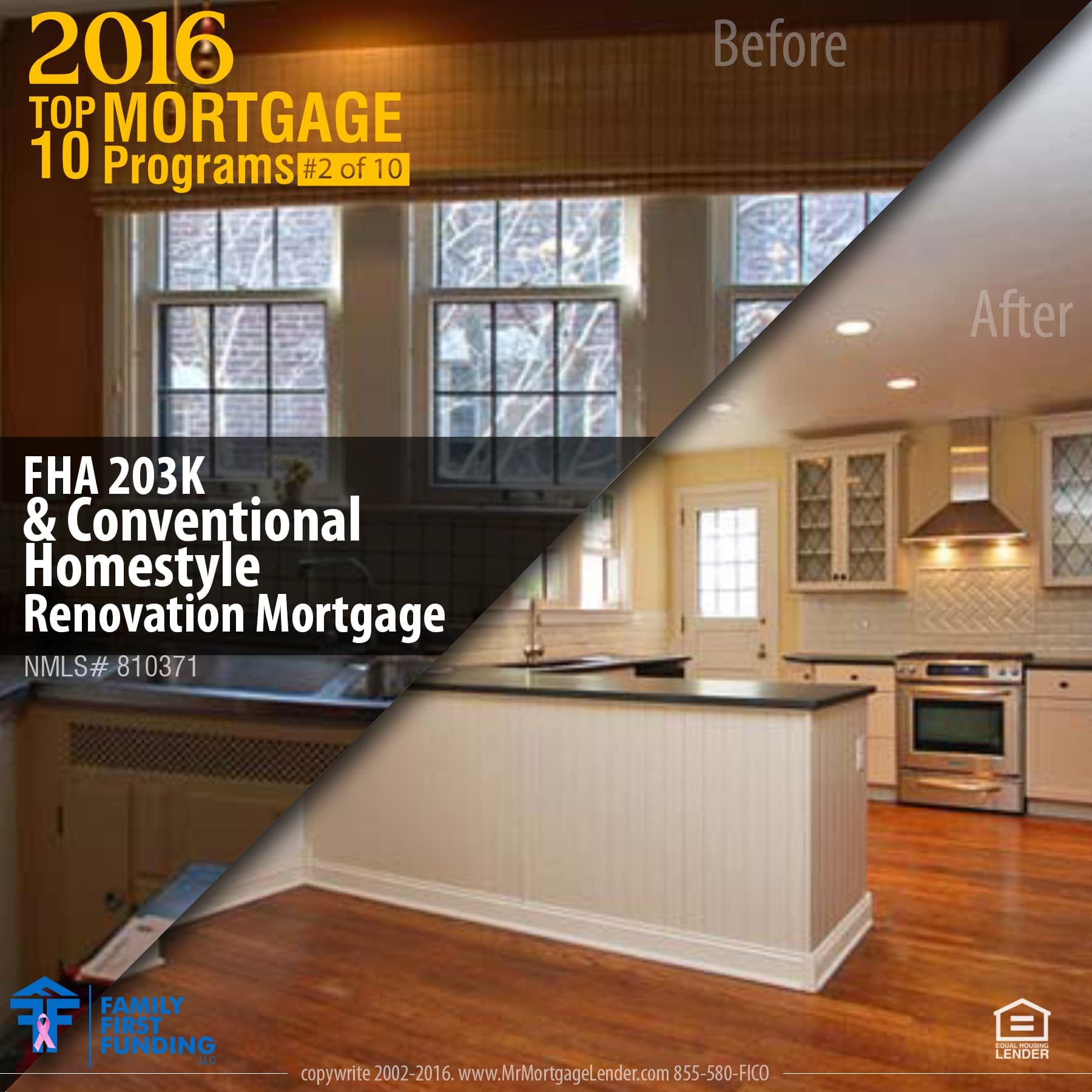 2. FHA 203K & Conventional Homestyle Renovation Mortgage -Design