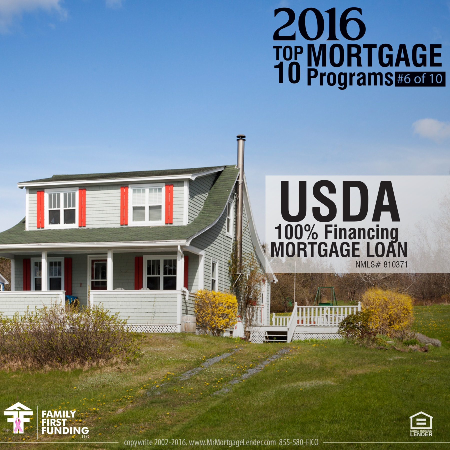 6. USDA 100 Financing Mortgage Loan