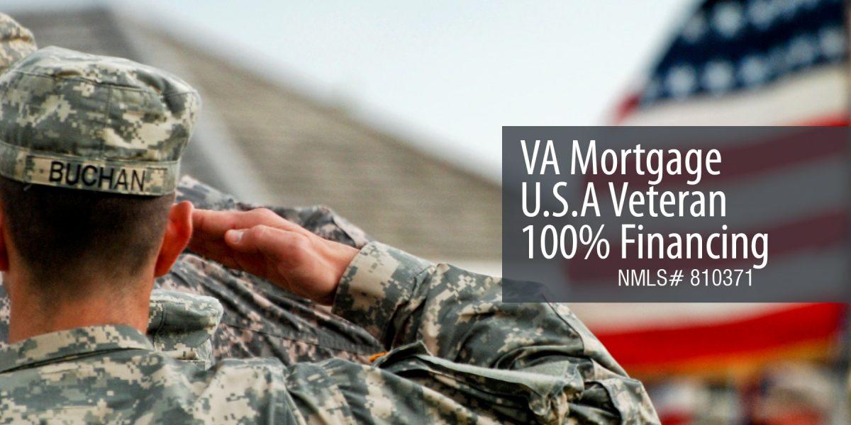 5. VA Mortgage U.S.A Veteran 100% Financing