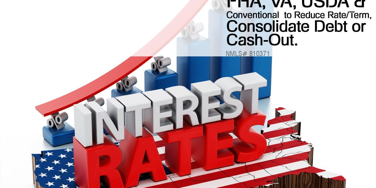 7.   Mortgage Refinance FHA, VA, USDA & Conventional  to Reduce RateTerm, Consolidate Debt or Cash-Out.